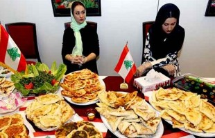 Iftar tables set by wives of ambassadors of Islamic countries to Iran