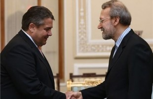 Larijani meets with Sigmar
