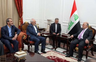Zarif meets with Iraqi official