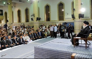 IRTVU members meet with Supreme Leader in Tehran