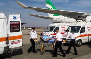 Iranians injured in Mina crush return home