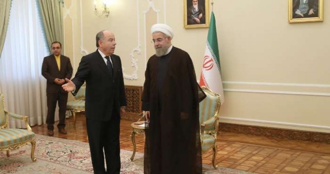 Rouhani meeting with Mauro Vieira (1)