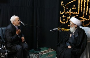Iran's FM Zarif meets senior clerics in Qom