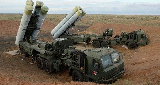 Russian S-400 Missile Defense System