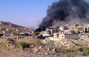 blast in Lebanon's northeastern city of Arsal