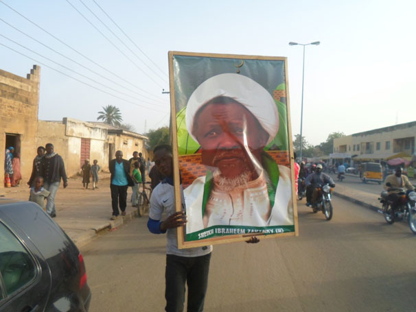 Image result for 9 Arrested, As EL-Zakzaky's Supporters Protest In Abuja
