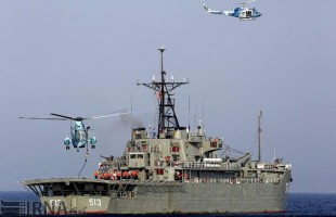 2nd day of Navy drill underway in Southeastern Iran