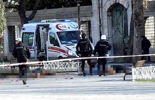 Explosion rocks historic Istanbul square