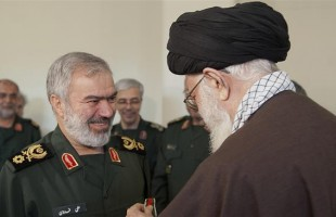 Leader confers 'Fath' medal on IRGC commanders