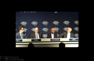 Zarif attends World Economic Forum annual meeting in Davos