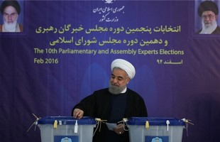 Rouhani casts vote in elections
