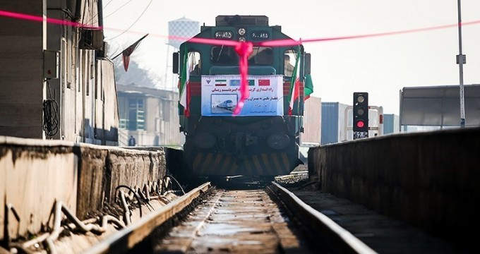 Silk Road train arrives in Tehran Monday