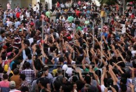 Egyptians protest at King Sailman ownership of Red Sea islands of Tiran and Sanafir