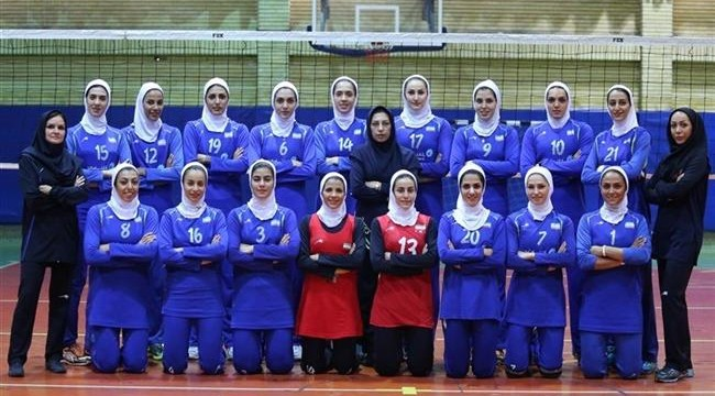 Iranian women's national volleyball team