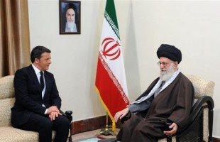SL receives Italian premier in Tehran