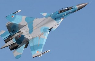 Sukhoi Su-30 fighter jet