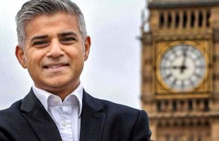 London's mayor Sadiq Khan
