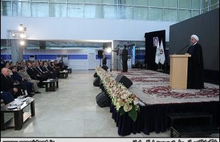 Rouhani addresses opening ceremony of the 29th Tehran Int'l Book Fair