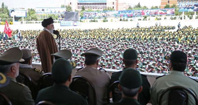 SL attends graduation ceremony of military cadets in Tehran