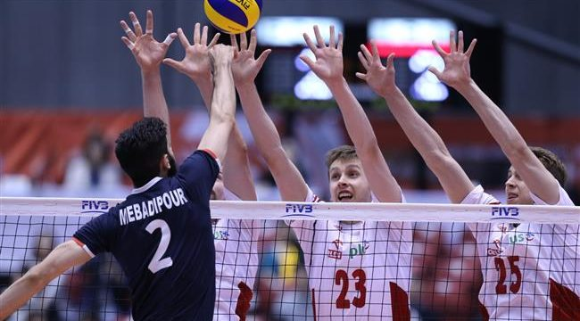 Iran volleyball team outdoes Poland, earns place at Rio Olympics Games