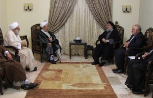 Iranian clerics meet Nasrallah
