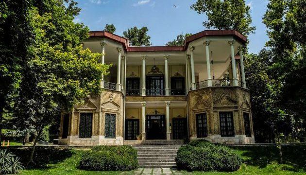 Historical complex of Niavaran in Tehran