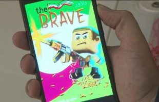 Iranian mobile game 'The Brave'