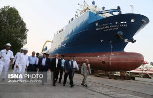 Iran's first research ocean-liner