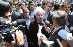 Rouhani in Quds Day rallies