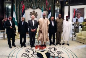 Iranian Foreign Minister Mohammad Javad Zarif arrived in the Nigerian capital in the first leg of his tour to West Africa on Sunday night and met with Nigerian officials.