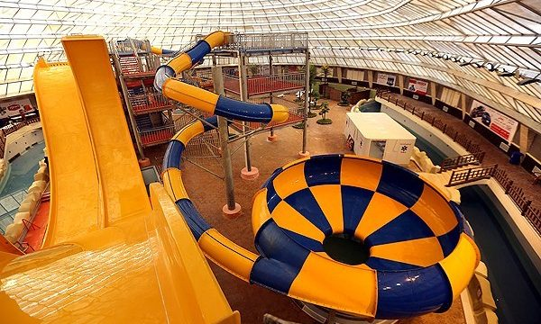 First water park opened in Qom