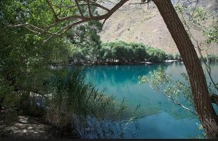 Gahar Lake in Lorestan