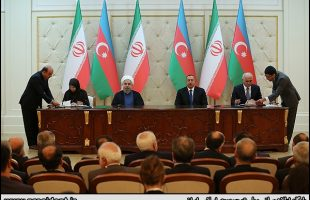 Iran, Azerbaijan ink six protocols for trade ties
