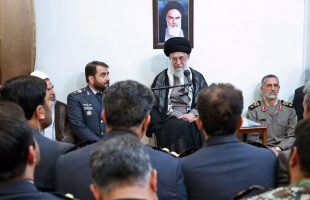 SL meets commanders of Khatam ol-Anbia Air Defense Base