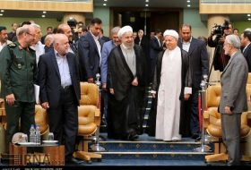 Sacred Defense meetin- Rouhani