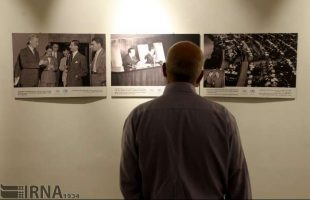 UN photo & document exhibit opens in Tehran