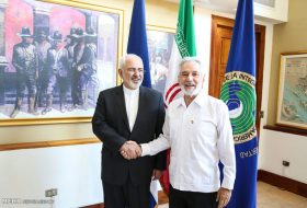 Zarif meets with Nicaraguan counterpart  (7)