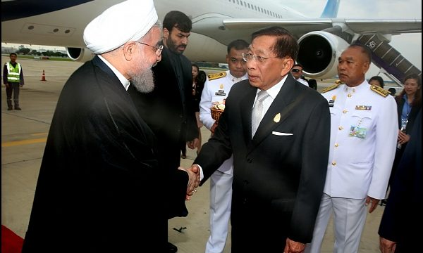 rouhani-arrives-in-thailand