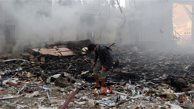 The Saudi-led coalition bombed a funeral community in Sana'a, killing more than 140 people and wounding 525.