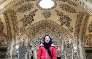 Foreign Tourists Visiting Iran Kashan