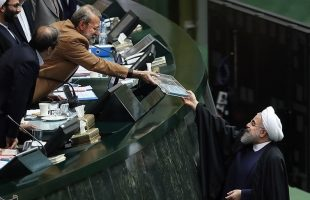 rouhani-submits-budget-bill-to-majlis