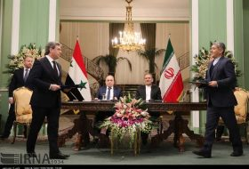 Iran, Syria sign 5 MoUs