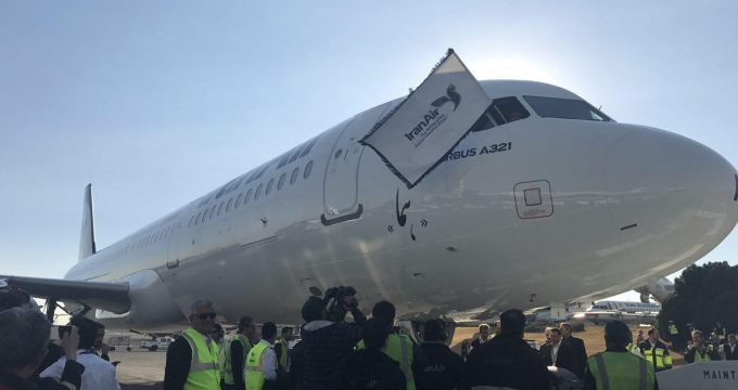 Iran Takes Delivery of 1st Airbus Plane after JCPOA