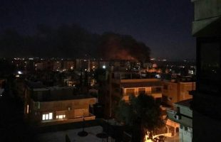 Israeli rockets hit Syrian military airport
