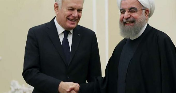 Rouhani & Jean-Marc Ayrault