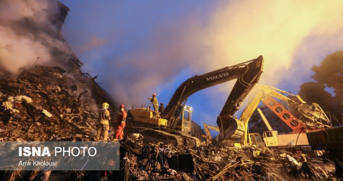 Rubble clearing continues on Plasco site