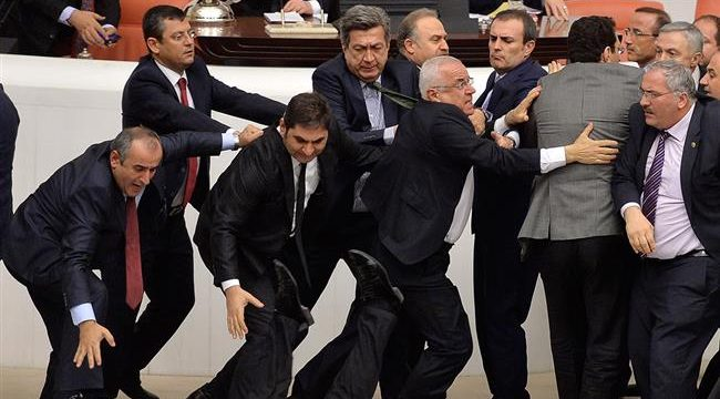 Turkey parliament