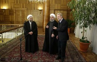 Iran heads of three branches meet
