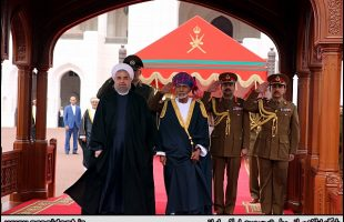 Rouhani officially welcomed in Muscat