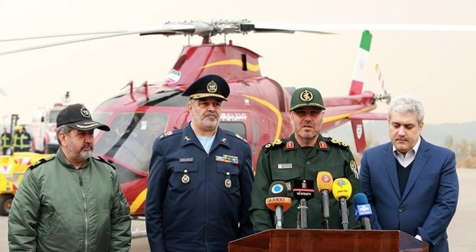 Iran unveils Saba-248 indigenous helicopter